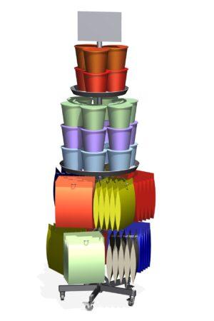 Kasten en rekken metaal