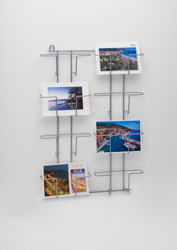 PC8H-Buyck Displays-postkaarten wandrek horizontaal